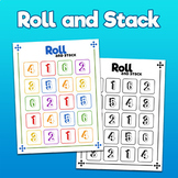 Roll and Stack - Free Printable!