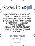 Roll and Stack Math Number Game