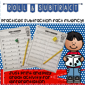 Roll and Subtract
