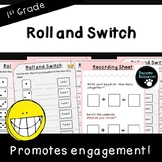 Roll and Switch-Student Game (First Grade, 1.OA.3)