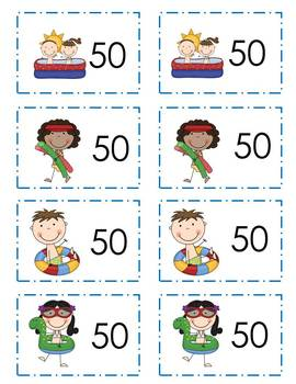 Roll and Tell Multiplying by 10 Game