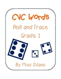 Roll and Trace CVC Words