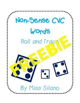 Roll and Trace Non-Sense CVC Words