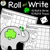 St. Patrick's Day Activities ● Roll and Write Letters ● Dice Activity