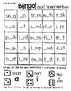 Roll and Write Bingo:  Short Vowels