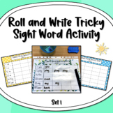 Roll and Write Camera Words/ Sight Words Activity