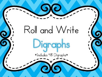 Roll and Write Digraphs