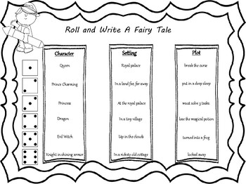 Roll and Write Fairy Tales