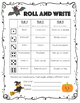 Roll and Write [Halloween Edition]