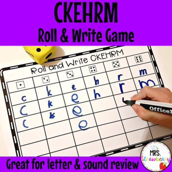 Roll and Write Letters CKEHRM
