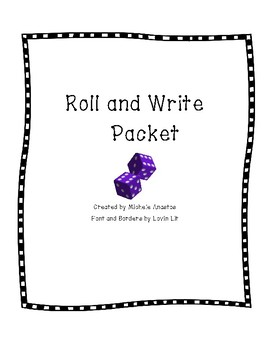 Roll and Write Literacy