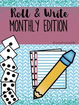Roll and Write {Month Edition}