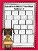 Roll and Write NO PREP Word Work Numbers Bundle 1-20