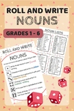 Roll and Write: Nouns