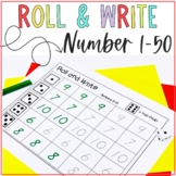 Roll and Write Numbers 1-50