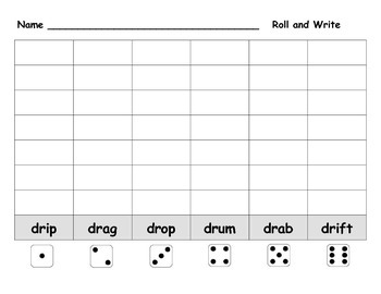 Roll and Write Pack