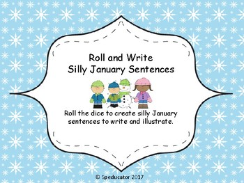 Roll and Write Silly Sentences (Sept. - June)