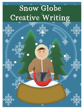 Roll and Write Snow Globe -Winter Creative Writing and Craft
