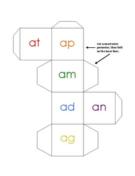 Roll and Write/ Spin and Write Word Families