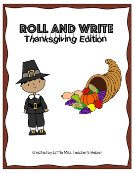 Roll and Write [Thanksgiving Edition]