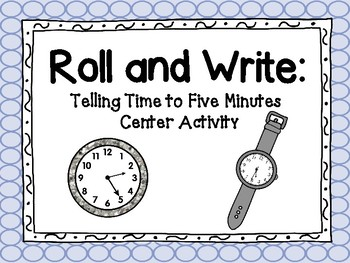 Roll and Write: Time to 5 Minutes