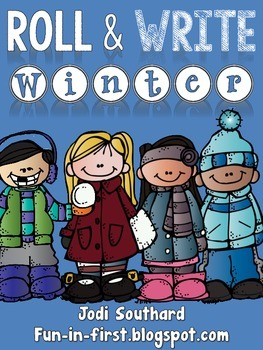 Roll and Write {Winter Edition}