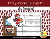 Roll and Write a Christmas Story in Spanish - Tira y escri
