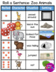 Roll and Write a Sentence or Story: Animals Addition