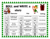 Roll and Write a Story- December / Christmas