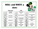 Roll and Write a Story- March /Saint Patrick's Day
