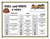 Roll and Write a Story- November/ Thanksgiving
