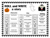 Roll and Write a Story- October/ Halloween