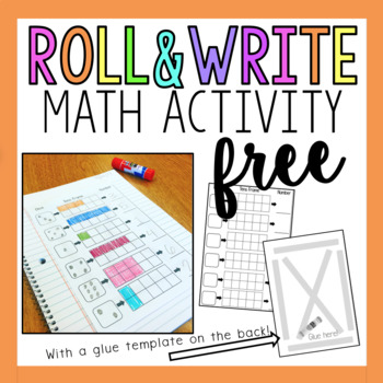 Roll and Write for Math Notebooks