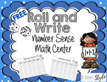 Roll and Write numbers