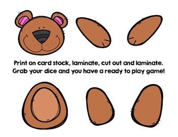 Roll and create a bear