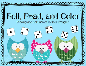 Roll and read numbers 1 through 10