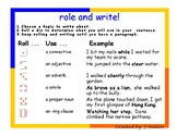 Roll and write dice game FREEBIE