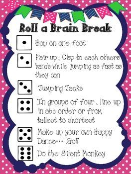 Roll for a {BRAIN BREAK}