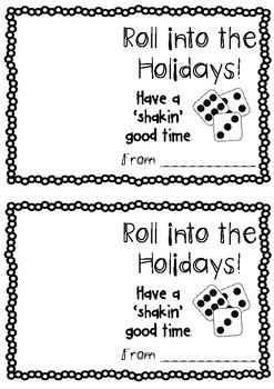 Roll into holidays