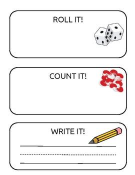 Roll it, Count it, Write it