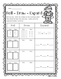 Superhero: Roll - Draw - Expand / Differentiated Place Value Activity