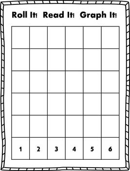 Roll it! Read It! Graph It! - Short Vowel Sentences