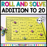 Roll and Solve Addition Within 20