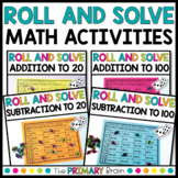 Roll it, Read it, Solve it Addition and Subtraction BUNDLE