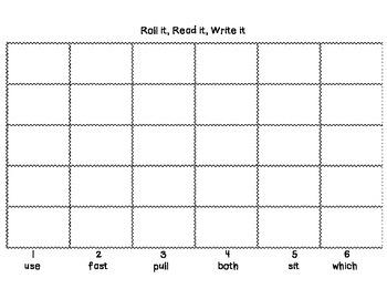 Roll it, Read it, Write it