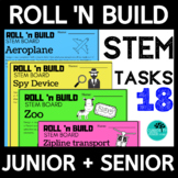 Roll and Build STEM Bundle K-6  Distance Learning