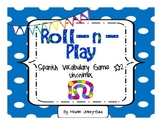 Roll-n-Play Spanish Vocabulary Game #2 Sínonimos