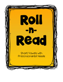 Roll-n-Read Short Vowels  Preconsonantal Nasals