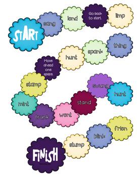 Roll-n-Read Short Vowels  Preconsonantal Nasals