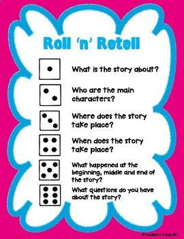 Roll 'n' Retell - Reading Games (Non-Fiction)